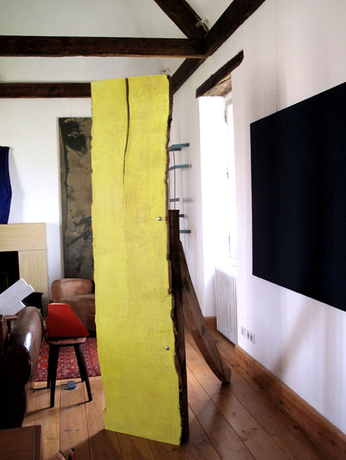 sculptureYellowSalon, john griefen, painting